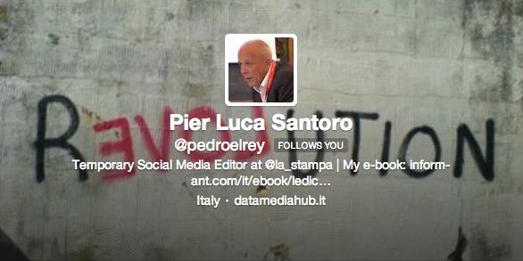 Pier Luca Santoro  pedroelrey  on Twitter