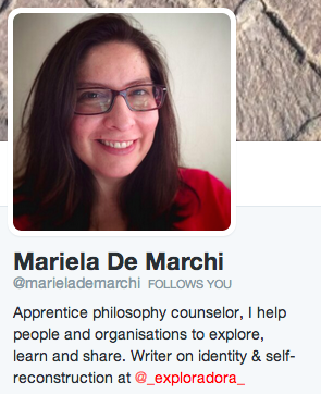Mariela De Marchi su Twitter