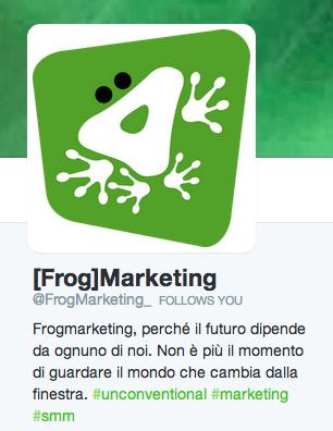 frogmarketing su twitter